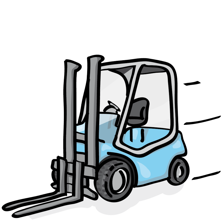 Counterbalance Forklift Truck